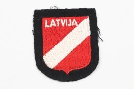 Waffen-SS Latvian volunteer's sleeve badge