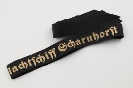 14 SCHLACHTSCHIFF SCHARNHORST cap tallies