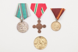 Bulgaria - lot of 4 medals