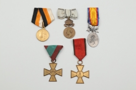 Lot of 5 foreign awards