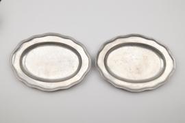 Ein Paar ovale Schalen, Mainz um 1750