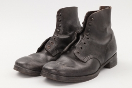 WWII Low ankle boots