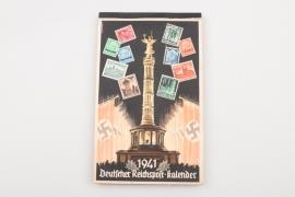 Third Reich 1941 wall calendar