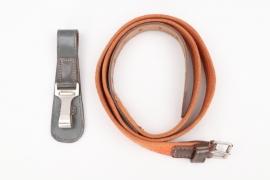 Wehrmacht sabre belt & hanger