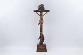 Standkruzifix, Oberammergau, Ende 18. Jh.