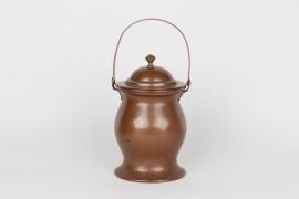 Henkeltopf aus Kupfer, süddeutsch um 1800