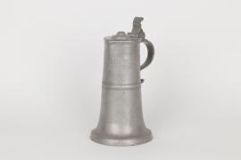 Stitze aus Zinn, Kircheim unter Teck. datiert 1762