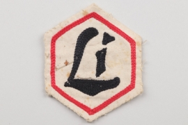 "Unknown embroidered badge ""Li"""