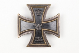 1914 Iron Cross 1st Class on screw-back - variant