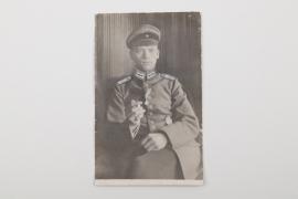 WW1 pilot's portrait photo