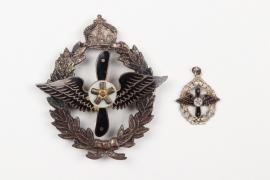 Kaiserlicher Aero- u. Modellflieger Verein Badge & miniature
