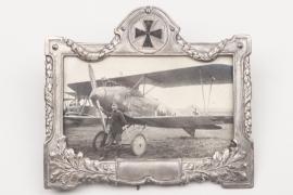 WW1 impressive framed aircraft photo