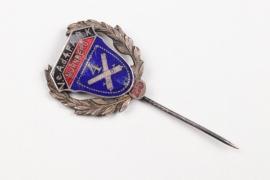 Artillerie Rgt. 4 enamel jubilee pin - Nürnberg