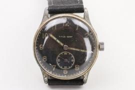 Third Reich watch by Titus, Genf