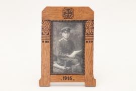 "WW1 ""Fliegertruppe"" framed portrait photo"