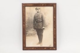 Imperial Germany - WW1 framed Pilot's photo - Eggenfelden