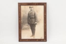 WW1 framed Pilot's photo - Eggenfelden