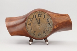 Imperial Germany - Table clock from WW1 Heine Propeller