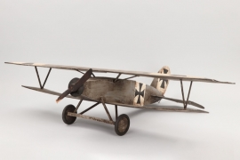WWI aircraft model