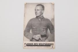 """Third Reich """"Flieger des Weltkrieges"""" booklet"""