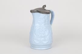 Wasserkanne aus Steingut, England um 1880