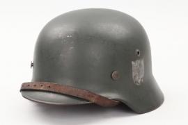 Heer M35 double decal helmet - SE66