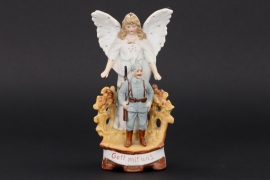 Imperial Germany - WW1 impressive ceramics statue