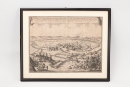 Belagerung der Stadt Narva, Kupferstich, Anfang 18. Jh.