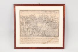 Stahlstich mit Szene aus dem Krimkrieg, Russland um 1854