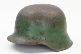 Wehrmacht M42 camo helmet