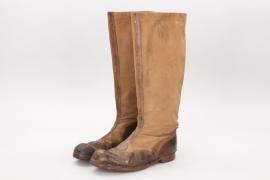 Waffen-SS tropical boots