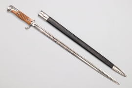 Bavaria - etched bayonet M 98 by WKC - long type