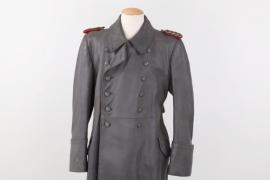 Heer Generalmajor's leather coat