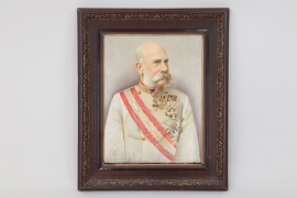 Austria - Kaiser Franz Joseph I. (oil on canvas)