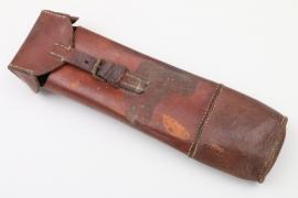 Reichswehr/Wehrmacht leather pouch - unknown