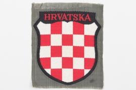 Heer HRVATSKA sleeve badge