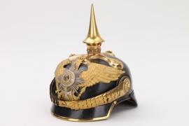 Prussia - 1.Garde-Drag.Rgt.reserve officer's spike helmet
