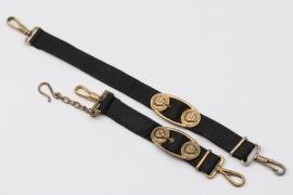 Hangers for Kriegsmarine officer's dagger