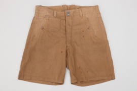Kriegsmarine tropical shorts