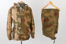 Wehrmacht tan & water camo parka & trousers