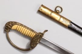Kriegsmarine officers Lion's head sabre (replica)