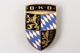 Emailiertes Abzeichen - BKB Bayerischer Kriegerbund