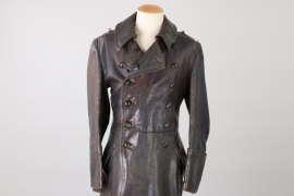 Luftwaffe officer's leather coat