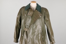 Postwar German motorcyclist's coat - BGS