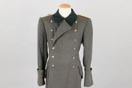 Heer Jäger coat to Nachrichten Leutnant
