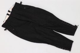 Allgemeine-SS black breeches - removed tag