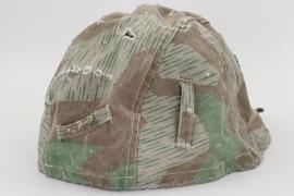Wehrmacht helmet camo cover