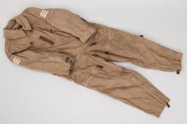 Fw. Engelhardt - Luftwaffe summer flight suit - 1940