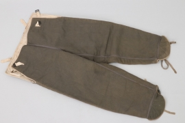 Waffen-SS reversible winter camo trousers