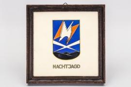 """Luftwaffe 1941 """"Nachtjagd"""" wall tile"""